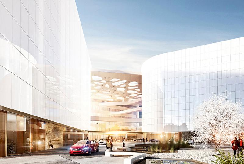 沃尔沃研发中心创新结构设计效果图