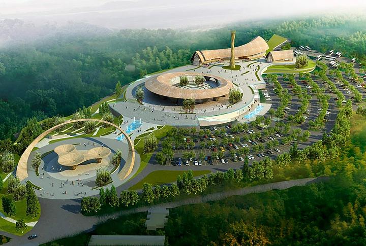 竹海景区 · 游客服务中心